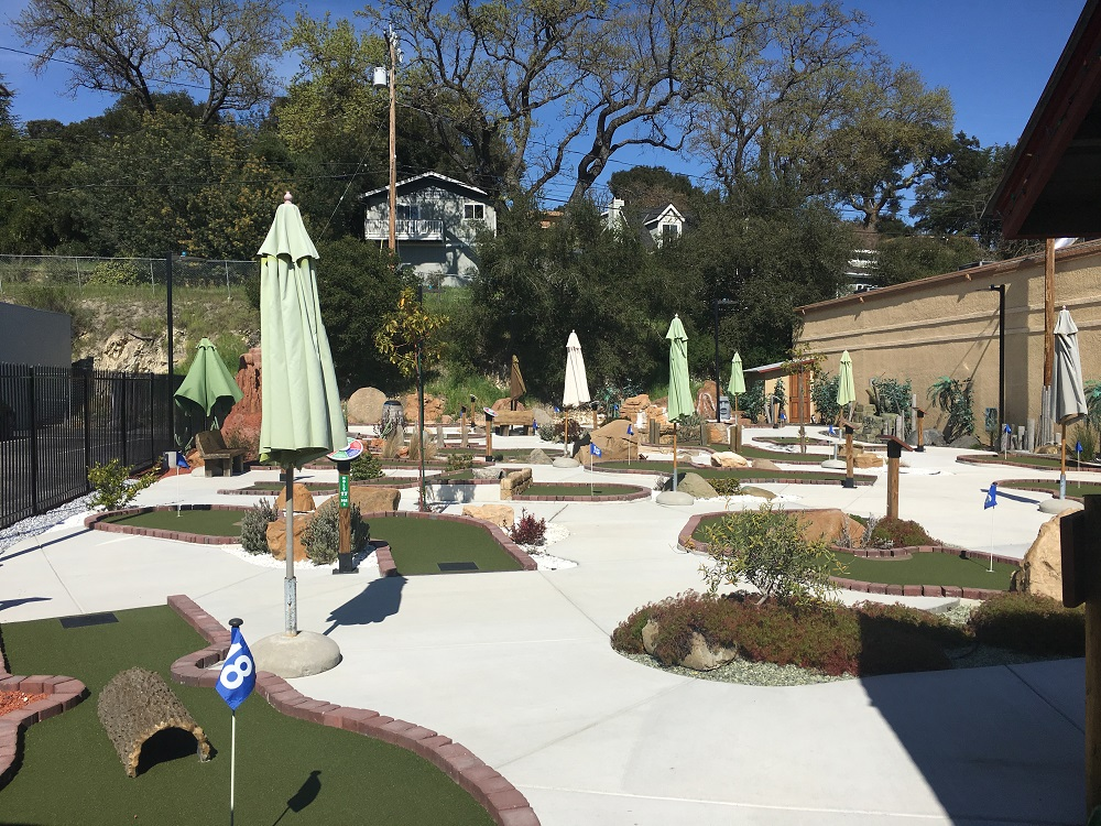 Mr. Putters Atascadero's Hidden Family Fun Mini Golf Course